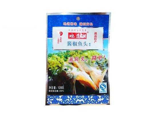 地道湘酱椒鱼头配料128g
