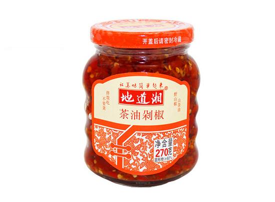地道湘茶油剁椒270g