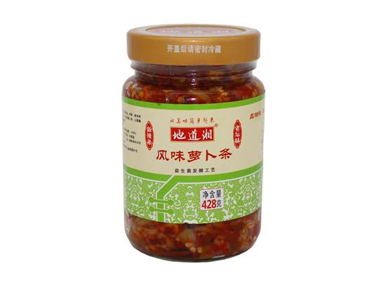 地道湘风味萝卜条428g