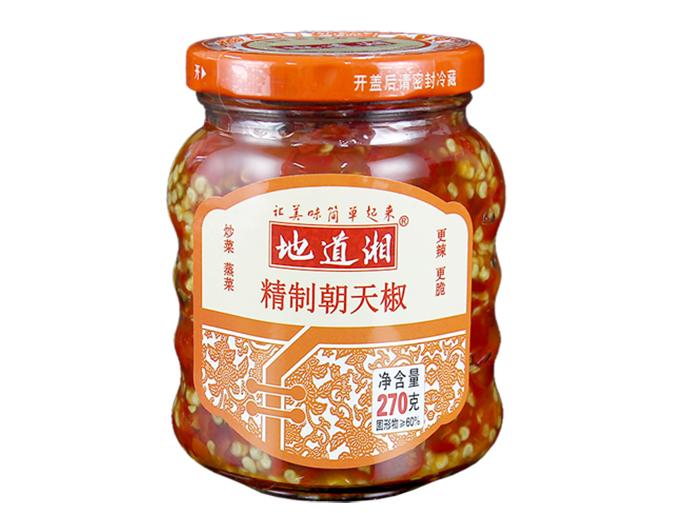 地道湘精制朝天椒270g