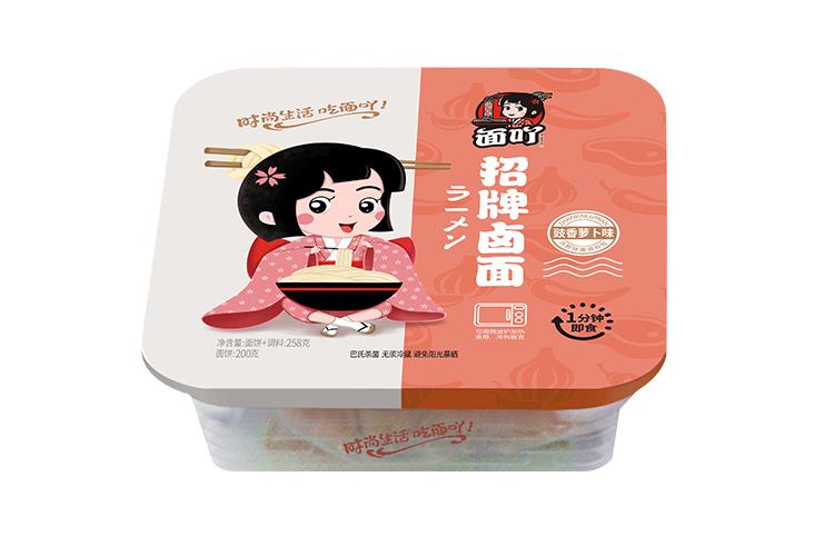 豉香萝卜味招牌卤面258g(方盒)